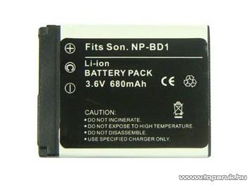 ConCorde for Sony NP-BD1 akkumulátor