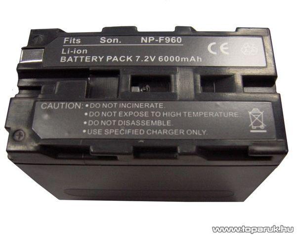 ConCorde for Sony NP-F960 akkumulátor - megszűnt termék: 2015. május
