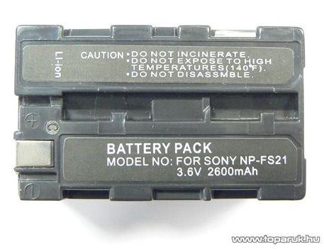 ConCorde for Sony NP-FS21 akkumulátor