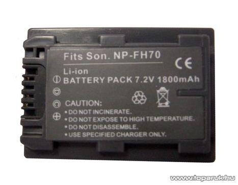 ConCorde for Sony NP FH 70 akkumulátor - megszűnt termék: 2016. január