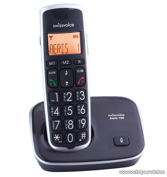 Swissvoice Aeris 126 DECT telefon - megszűnt termék: 2015. november