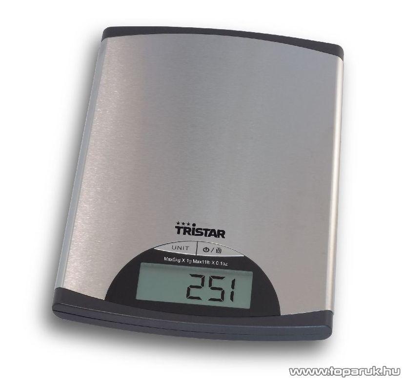 TRISTAR KW-2435 Konyhai mérleg (max. 5 kg súlyig)