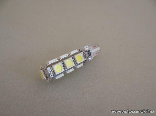 13 HighPower LED 360 fok látószög, extra nagy fényerő, CAN-BUS (LD34-W5W)