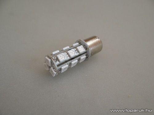 18 SMD HighPower LED-es, 360 fokban világitó helyzetjelző LED ba15s foglalathoz, 21W-os izzó helyére (LD29-1156)