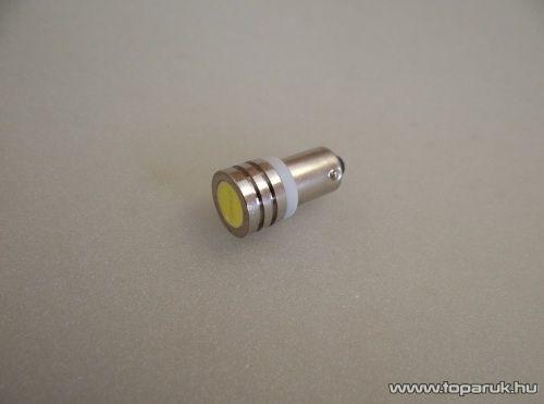1 nagy HighPower LED-es, fémhűtéses, bajonettes helyzetjelző, 180°-os látószög (LD31-H6W)