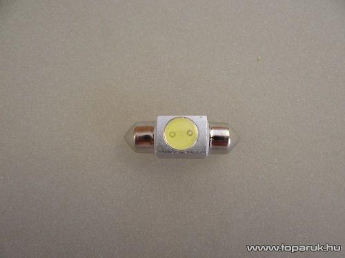 1 Luxeon HighPower LED-es, beltér megvilágító fémhűtéses led, 12V, 8 W, jégfehér (LD18-C5W)