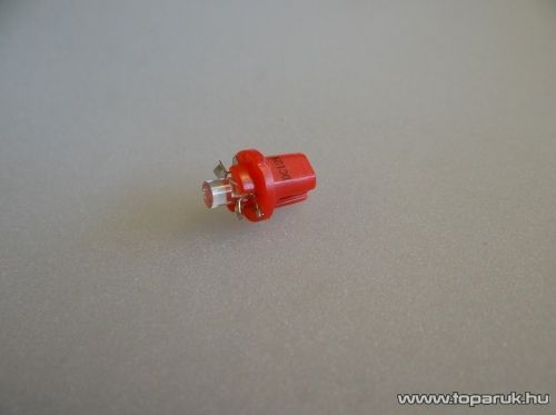 1 LED-es műszerfal világító led, nagyfényű, B8.5D műszerfal foglalatba, 12V (LD05-ML) - készlethiány