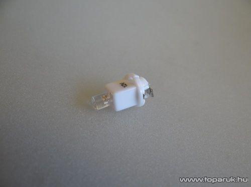 1 LED-es műszerfal világító led, nagyfényű, T5F/BAX műszerfal foglalatba, 12V (LD10-ML)