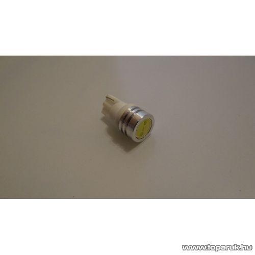 1 nagy LUXEON LED 180 fok-os látószög, Fémhűtéses, jégfehér (LD72-W5W)