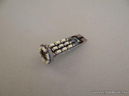 24 HighPower LED 360 fok látószög, extra nagy fényerő, CAN-BUS (LD35-W5W)