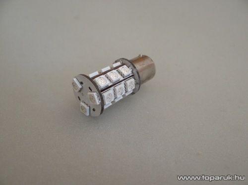 24 SMD HighPower LED-es, 360 fokban világitó helyzetjelző LED ba15s foglalathoz, 21W-os izzó helyére (LD30-1156)