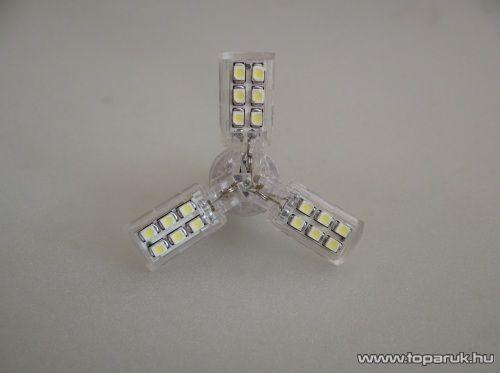 24 SMD Star LED-es, 360 fokban világító helyzetjelző led, 21W-os izzó helyére, ba15s foglalatba, 1156 (LD34-1156)