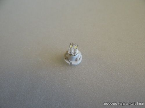 2 PC NEOW LED-es műszerfal világító led, T4 foglalatba, 12V, jégfehér (LD12-ML)
