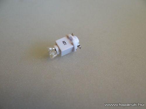 3 LED-es műszerfal világító led, B 8.0 foglalatba, 12V (LD01-ML)
