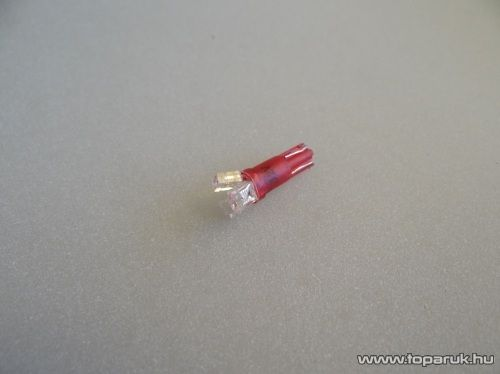 3 LED-es műszerfal világító led, T5 wedge foglalatba, 12V (LD02-ML)