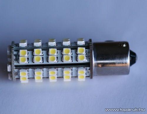 68 SMD LED-es, 360 fokban világitó helyzetjelző LED ba15s foglalathoz, 21W-os izzó helyére (LD27-1156)