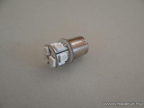 9 LED-es HighPower 360 fok látószögű led 5W-os hátsó helyzetjelző helyére (LD43-1156)