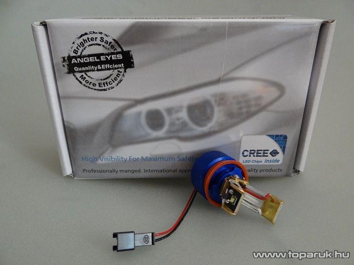 BMW 2 CREE LED-es körhelyzetjelző, jégfehér (BMW7)