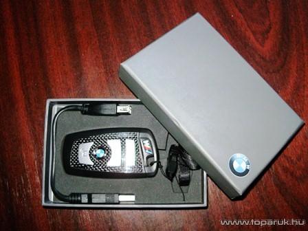 BMW kulcs formájú Pendrive, 8 GB-os - készlethiány