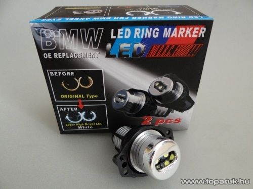 Jégfehér Körhelyzetjelzőt világító LED E90 (BMW11)
