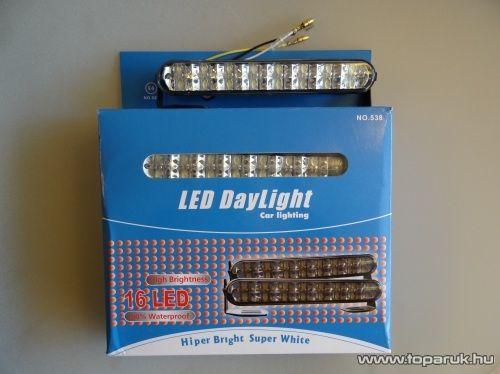 DPL Nappali pozíciófény, 16 db hagyományos LED (DRL011)