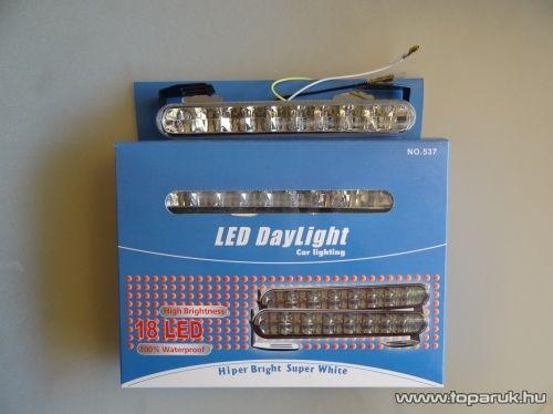 DPL Nappali pozíciófény, 18 db hagyományos LED (DRL011)