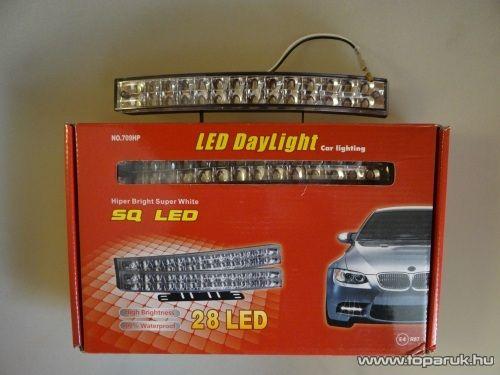 DPL Nappali pozíciófény, 28 db hagyományos LED (DRL010)
