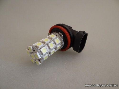 HB11-es izzó foglalat helyére való, 24 SMD LED, 360 fokban világító, jégfehér (LD08-HF)