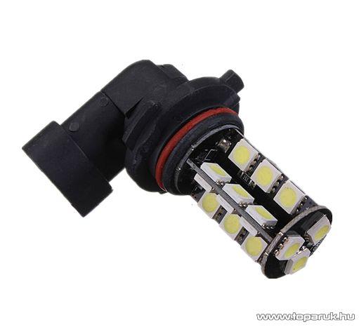 HB4-es izzó foglalat helyére való, 27 SMD LED, 360 fokban világító, jégfehér (LD07-HF27)