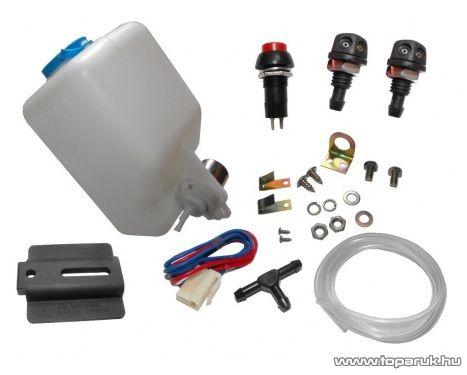 Xenon magasnyomású lámpamosó készlet, 12V (HW)