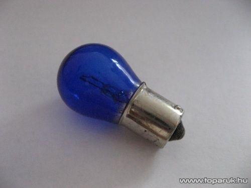 Xenon töltésű izzó, izzószálas, anyagában színezett, 12V, 21W, fehér (XT1-P21W) - készlethiány