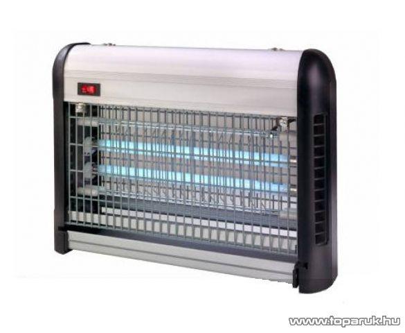 Westside 534720 UV-fénycsöves, ALU házas elektromos rovarcsapda, 2 x 9 W - megszűnt termék: 2013. július