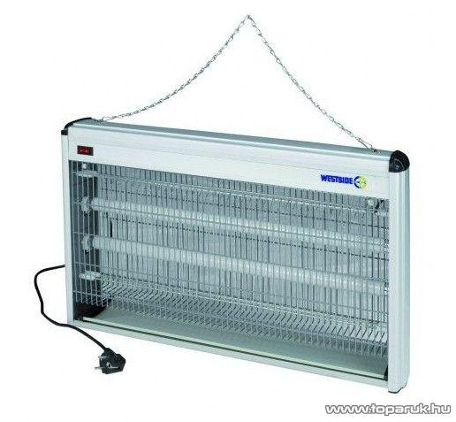 Westside 534405 UV-fénycsöves, ALU házas elektromos rovarcsapda, 2 x 20 W - készlethiány