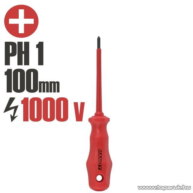 Handy Csavarhúzó, 1000V-ig szigetelt, 100 mm PH 1 (10593) - megszűnt termék: 2016. május