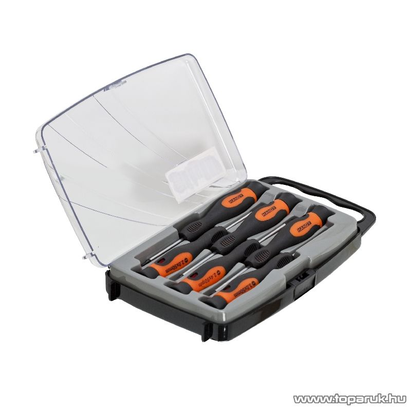 Handy 6 db-os precíziós csavarhúzó készlet tárolódobozzal (10736) - készlethiány