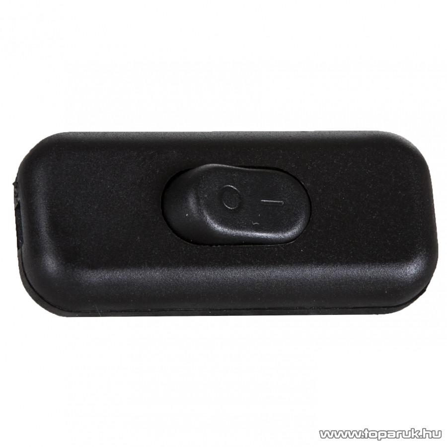 HOME 0535H Zsinórközi 1 pólusú kapcsoló, fekete