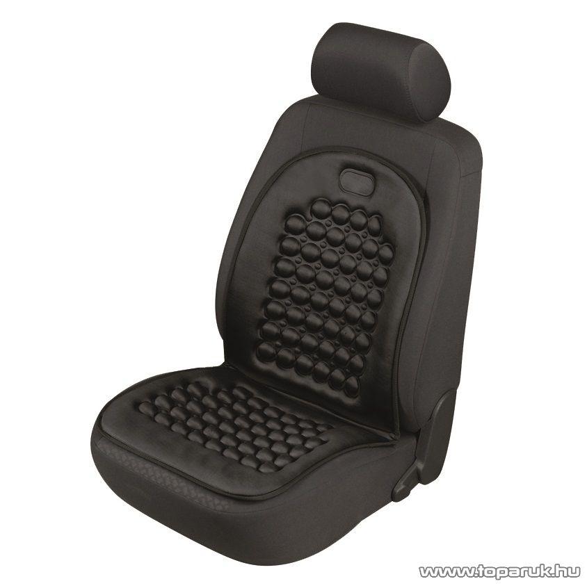 SAL 14186 Autós ülésvédő, üléspárna, fekete