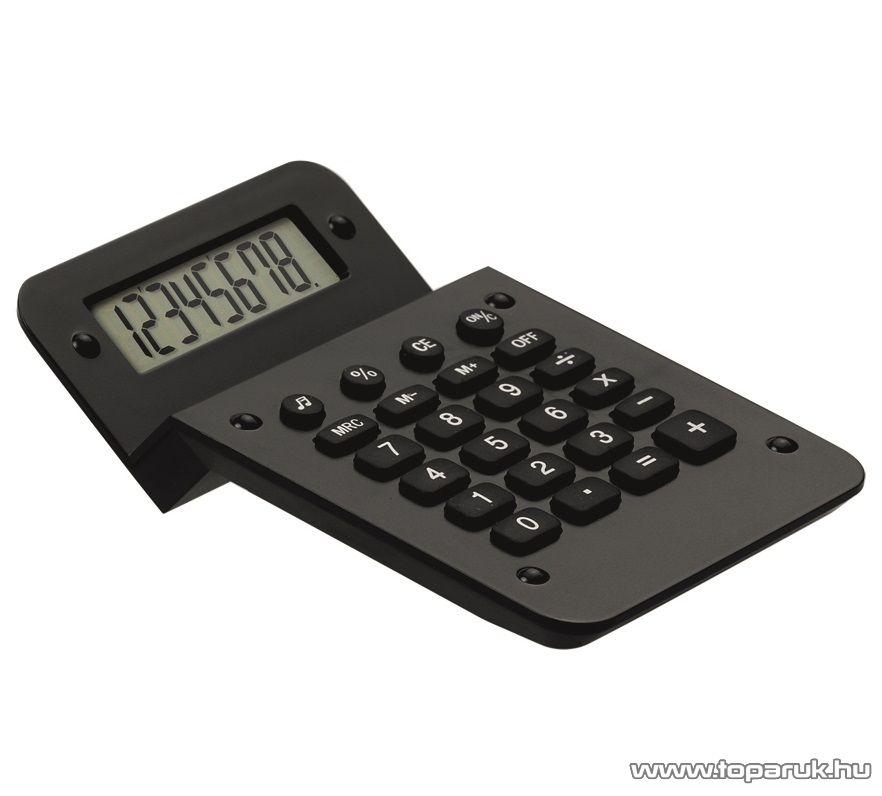 HOME 741154-10 NEBET asztali számológép, fekete