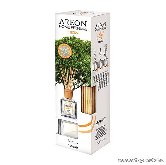 AREON Sticks FH 022 Home Parfume lakás és iroda illatosító, 150 ml, vanilla - megszűnt termék: 2016. április