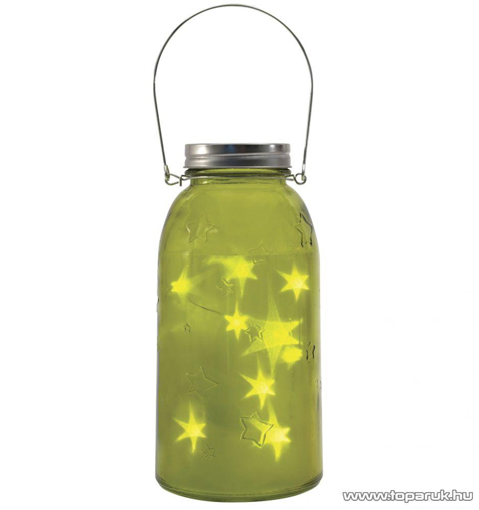 ARTI CASA EDC 0357 Beltéri LED-es, elemes díszüveg, behelyezhető LED fényfüzérrel, 4 db / csomag