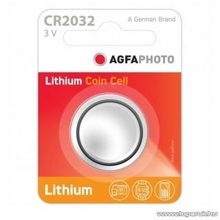 AgfaPhoto AF CR2032 gombelem, 3V, lítium, 1 db