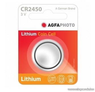 AgfaPhoto CR2450 gombelem, 3V, lítium, 5 db / csomag