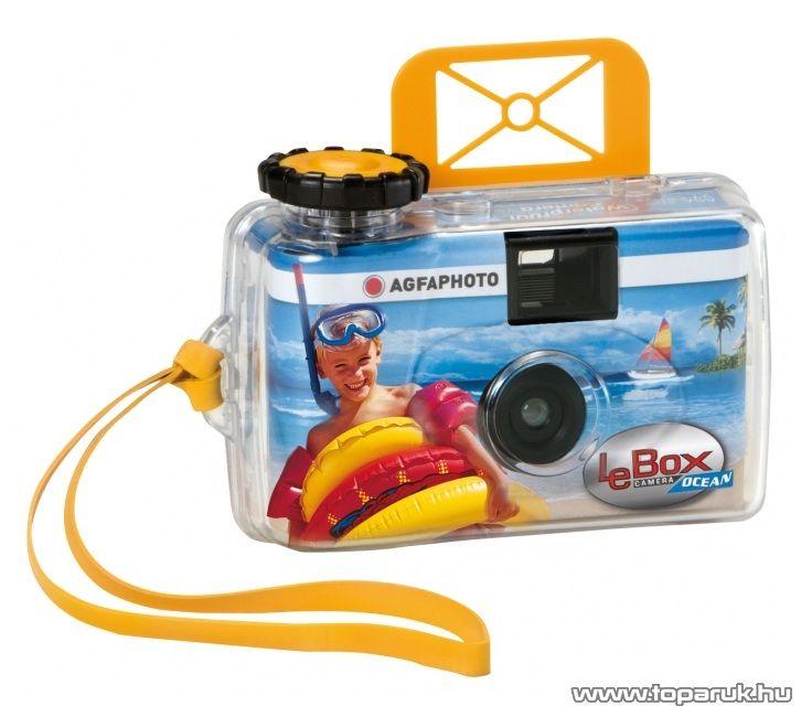 AgfaPhoto AF LeboxO Egyszerhasználatos vízálló fényképező - megszűnt termék: 2016. szeptember
