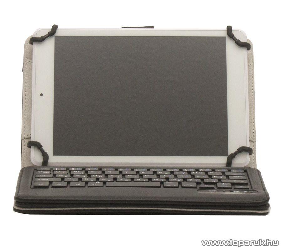 """HOME BT 80 Tablet tok Bluetooth billentyűzettel, 7 és 8""""-os tabletekhez, fekete"""