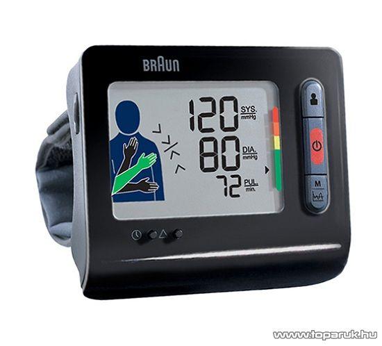 Braun BPW 4300C TrueScan Plus csuklós vérnyomásmérő - megszűnt termék: 2015. május