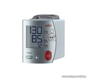 Braun BP 1700 MR-CEME csuklós vérnyomásmérő - készlethiány