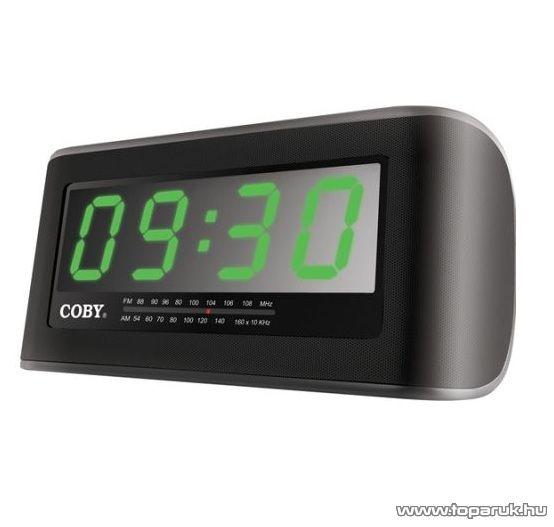 COBY CR-A108 Digitális ébresztőóra - megszűnt termék: 2014. október