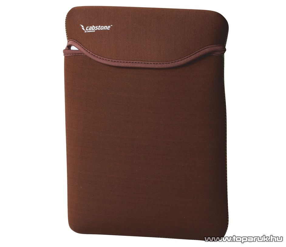 """Cabstone LBS 12 Netbook táska, tok, 12""""-os, barna - megszűnt termék: 2015. március"""