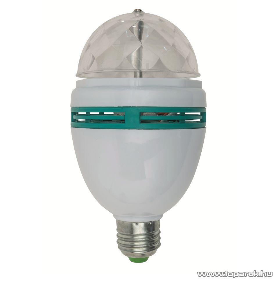 SAL DL 3/27RGB LED-s diszkólámpa (party égő), E27, 3 x 1 W