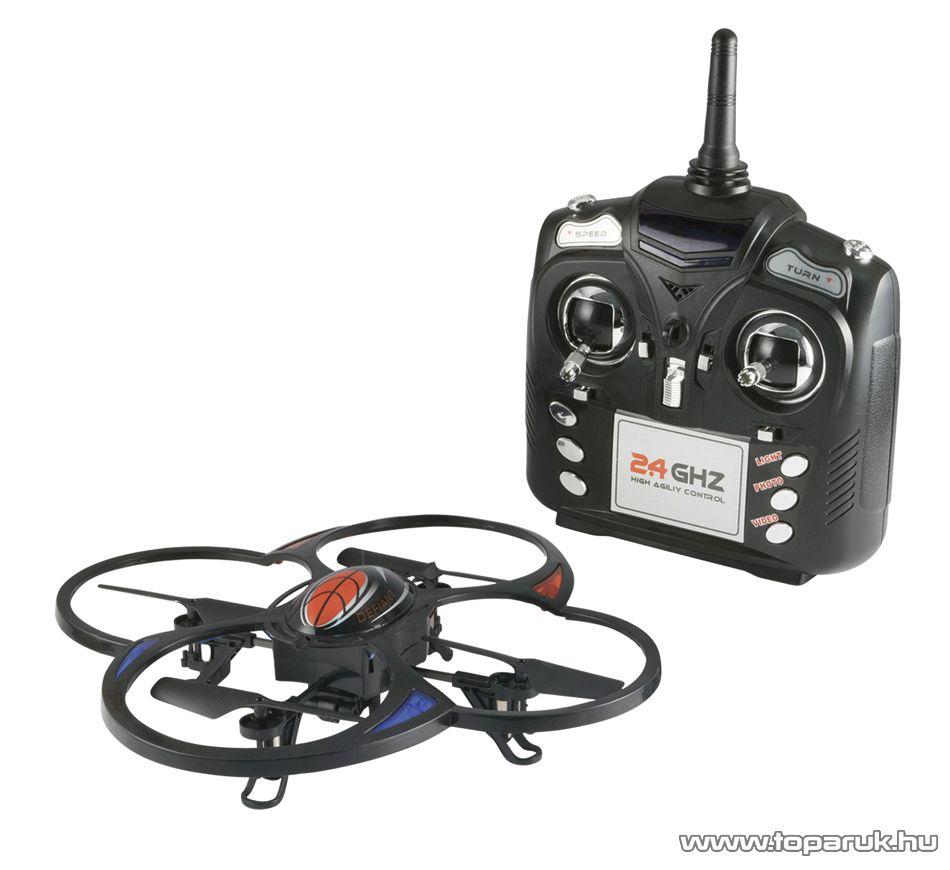 EDCO EDC 9881 Drone drón kamerával (rádiótávirányítású quadrocopter)